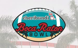 FAU WINS THE 2019 CHERIBUNDI BOCA RATON BOWL